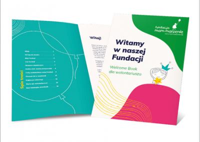 Projekt Welcome Booka - onboarding wNGO